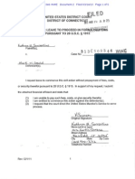 Kathryn Sorrentino Financial Affidavit