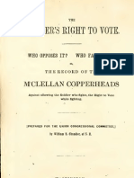 (1864) The Soldier's Right to Vote