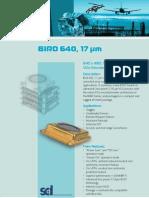 Bird 640, 17 µm