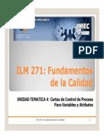 ILM271 UT4 1 Cartas de Control