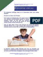 Entspanntes lernen in Deutschland?