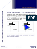 Stiffener Inspection Using a Linear Array