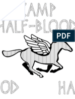Camp Half-Blood T-shirt Template