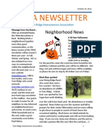 Twin Ridge Fall 2014 Newsletter