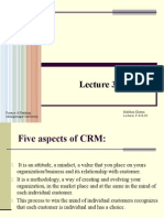 Lecture# 03 CRM