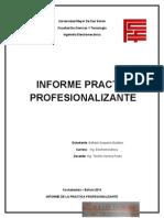 Informe Final Practica Profesionalizante Gustavo Bañado Sequeira