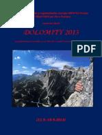 Dolomity 2013