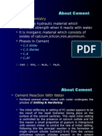 Cement Process Chemistry