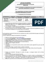 Instrucciones Prueba Competencia Lengua Extranjera