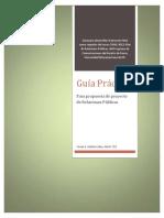Guía Práctica Para Propuesta de Relaciones Públicas