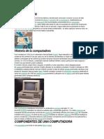 INTRODUCCION La Computadora