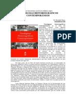 Presentación Libro Paradigmas Historiograficos Contemporaneos