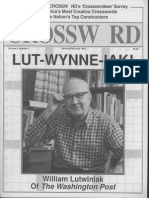 """""""And the Wynner Is . . . William Lutwiniak,"""" by Helene Hovanec"""
