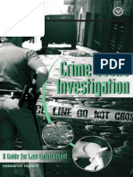 Crime Scene Investigation, A Guide for Law Enforcement - @@@