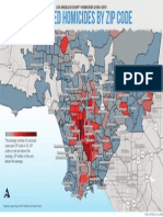 Unsolved Homicides in LA County