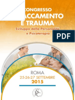 Congresso Attaccamento e Trauma - Roma 2015 Ita