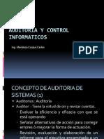 auditoria de control