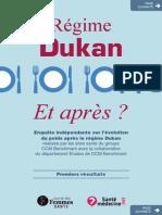 Regime Dukan Et Apres
