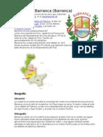 Distrito de Barranca