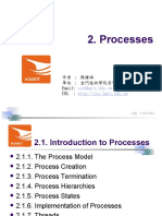 MINIX3 Processes