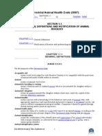 Terrestrial Animal Health Cod1gn