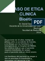 El Metodo de La Etica Clinica de Diego Gracia