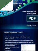 Python Et Arcgis