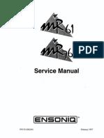 SMMR - MR-61 Service Manual