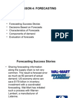 Lecture 4 Forecasting f04 331