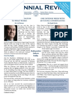 Centennial Review February 2015