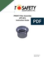 Fgd Man Ipf-001 Sx3 Gas Sensor Ip66 Filter