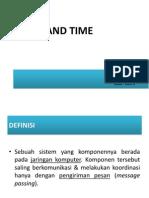 Slide Sistem Terdistribusi Time and Clock