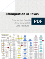 Alex Nowrasteh - Texas and Immigration