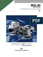 SDL30 Product Manual