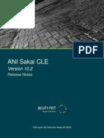 ANI Sakai CLE 10.2 Release Notes