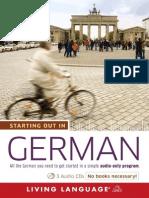 German by Living Language