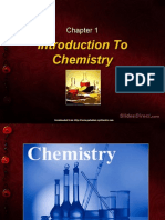 Introduction to Chemistry (Chapter 1)