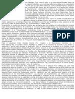 Filosofia en El Peru