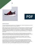 Silver Nike Free Run