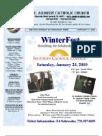 January 17, 2010 Bulletin