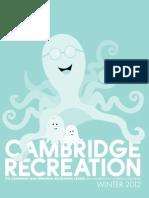 Cambridge Recreation Winter 2012