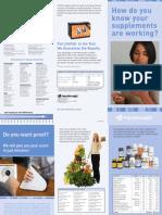 Scanner Trifold Brochure