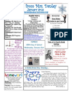 newsletter january 19-23