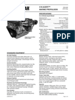 Cat C18 ACERT Spec Sheets - Commercial   C18 ACERT marine propulsion engine specifications.pdf