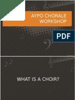 Aypo Choir Workshop
