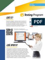 07 Testing Program FichaTécnica