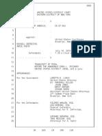 (English) Transcript of United States of America v Abdul Kadir, Russell Defreitas, Kareem Ibrahim, Abdel Nur 7-14-2010
