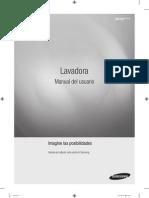 Manual-Instructivo Lavasecadora Samsung WD18H7300KP
