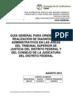 GUÍA GENERAL PARA ORIENTAR LA REALIZACIÓN DE DIAGNÓSTICOS ADMINISTRATIVOS