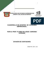 Cuadernillo de Apuntes de Economía Empresarial